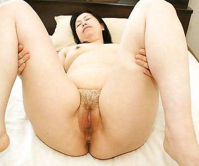 Fatty Asian milf Toyomi Furui gets fucked in her mouth on cam