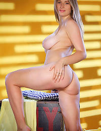 Girl next door Sheela A revealing ripe young girl breasts and bald cooter
