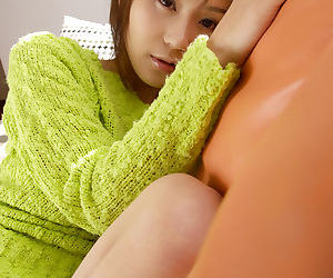 Double-dealing asian babe Takane Hirayama abbreviated will not hear of heady flexuosities