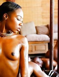 Black dimes Chanell Heart & Skyler Nicole bang African men in foursome sex