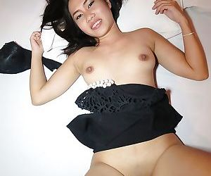 Dick loving Asian babe Win sucking a cock before getting fucked deeply