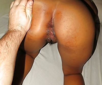 Asian hairy pussy gets destroyed by a big white cock in missionary