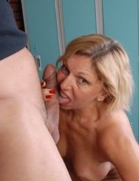 Over 50 and she still wants a big cock jammed in her filthy cunt