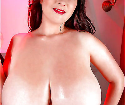 European brunette with big tits Rachel Aldana teases her hard nipples