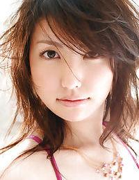Hawt Japanese lass in underware Takako Kitahara uncovering her insignificant jugs