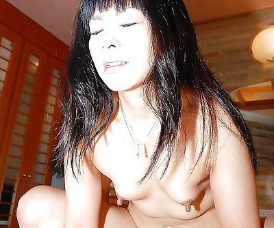 Gracious Asian milf Yumiko Takase gets sweaty during hardcore fucking