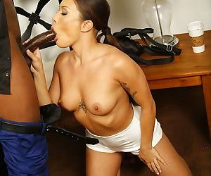 Asian chick Mena Mason agrees to fuck a BBC on certain conditions