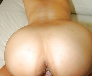 Rabelaisian asian chick gives a nooky more ball licking coupled with gets fucked wearisome