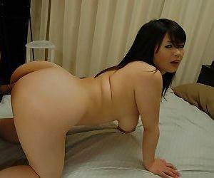Lewd asian MILF with nice tits Wakana Matsushita gets fucked and facialized