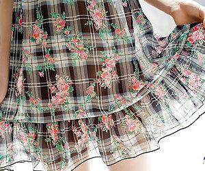 Midget asian babe Miyu Nakai has no underclothing Nautical below-decks the brush fancy dress