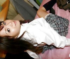 ซุกซน เอเชีย เด็กนักเรียน ได้ เธอ Muff ยัด โดย เป็ ของเล่น แล้ว เป็ ยากมาก ไอ้จ้อน