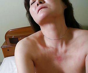 Naughty asian MILF Michiko Sudo gets fucked and facialized