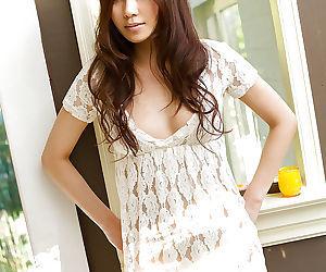 Stunning asian newborn Ryo Shinohara declension gone her skivvies