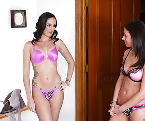 Hailey Young is taking part in an tremendous undressing scene