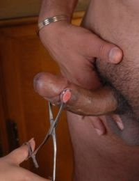 Mature BBW nurse Karla unleashing fat tits before blowing big cock