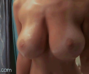 Webcam - Katee Owen Shaking Big Boobs