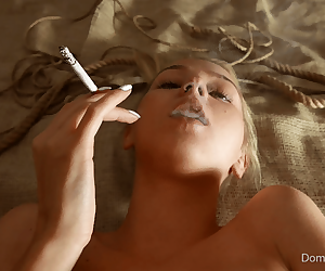 Martha from Domingoview smoking