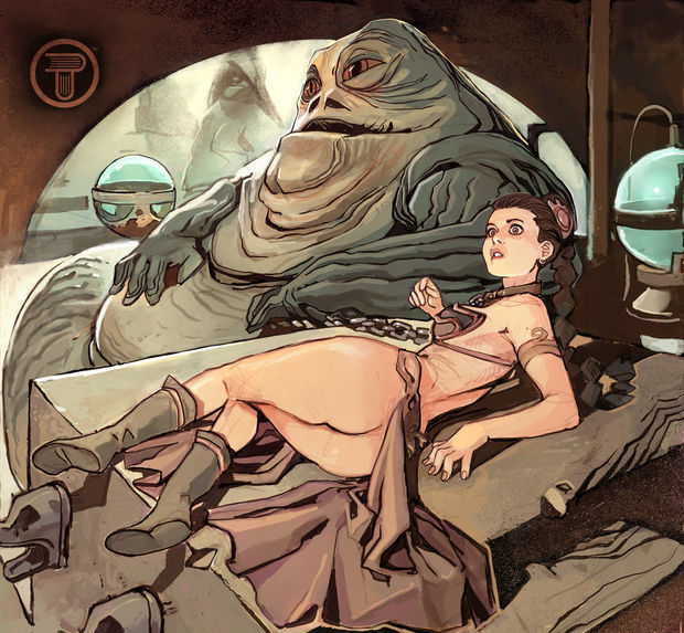 Cartoon Porn with Star Wars Princess Leia