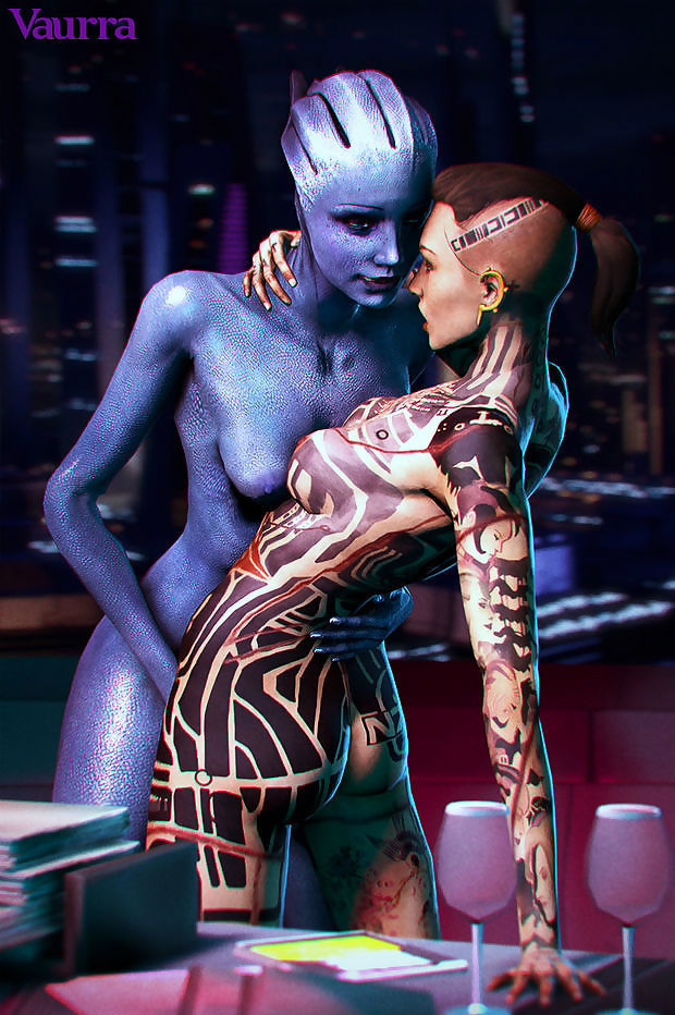 Jack & Liara - Mass effect