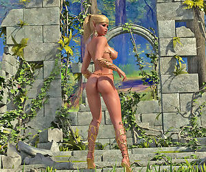 Nude Elf Princess