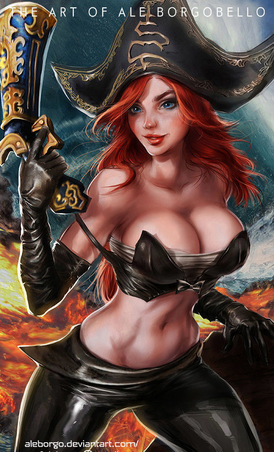 The hottest pirate.