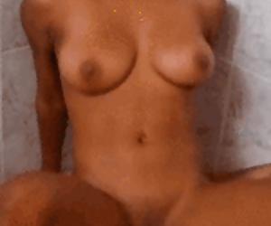 Nia Nacci POV Cowgirl Shower Sex