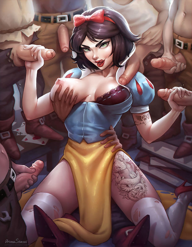 Naughty Snow White.
