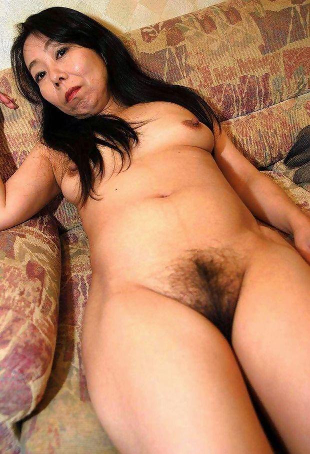 Hairy Asian Pussy #18554