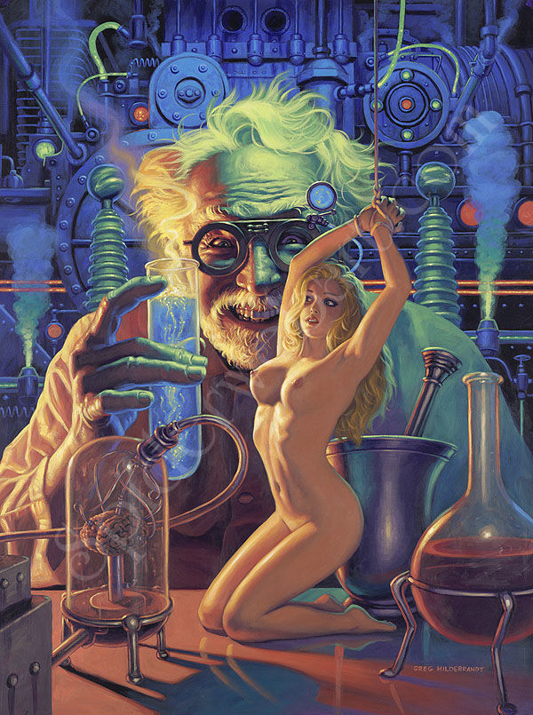 Mad Science - by Greg Hildebrandt