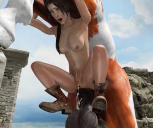 Horse fucking Lara