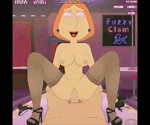 Lois Fuzzy Clam Lap Dance