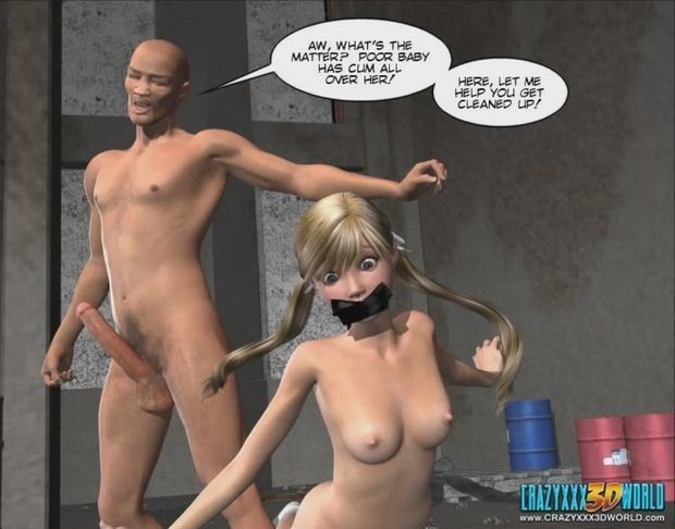 Police violence 3D comic: click on the picture to view full gallery