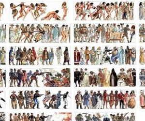 Milo Manara Evolution Human History War