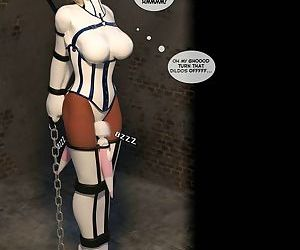 DBComix- New Arkham for Superheroines 2- The Great Escape