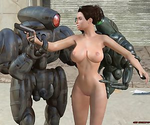 3D Fiends- Robot Chronicles- Alura And The Robots