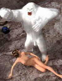 Insane3D- Horny Bigfoot