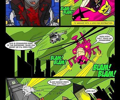 Hanna Barbera- Swat Kats Nove Squardon
