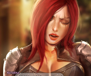 Katarina Fall asleep Pussy