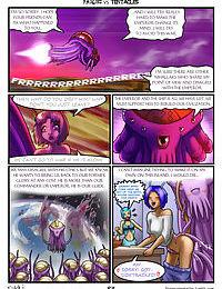 Fairies vs Tentacles Ch. 1-3 - part 5