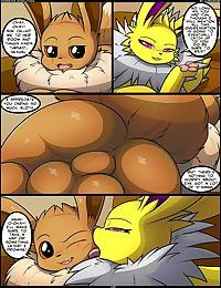 Oversexed Eeveelutions Vol. 3 - part 2