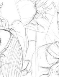 Natsumemetalsonic Sketches 2 - part 4