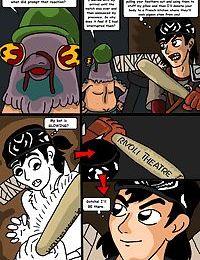 Teenage Mutant Ninja Turtles. Bat versus Bat