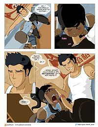 Legend of Korra comic