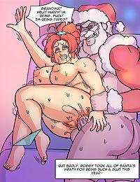 Santa visits CosTroupe