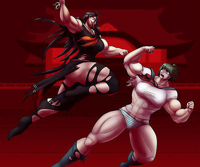 Danganronpa Another Universe: Ultra Muscle Girls - part 3