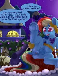 Rainbow Dash and You Attend the Gala