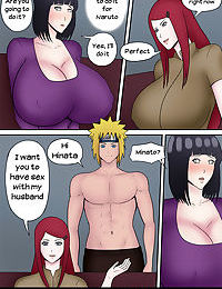 Kushina helps Hinata