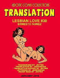 LESBIAN LOVE #30 - A JKSKINSFAN TRANSLATION