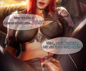 Reward 04 - Mercy- Katarina- Dark Elementalist Lux - fastening 7