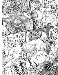 Jukumitsuki Intouden 3 Jou - Debauchery of a Mature Honeypot Princess Ch 3 - Part 1